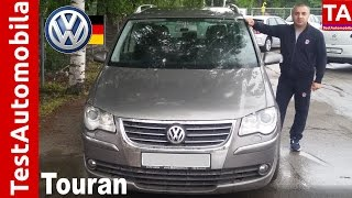 VW Touran 2.0 TDI restajling TEST