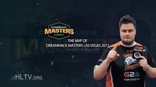 Snax - HLTV MVP by ZOWIE of DreamHack Masters Las Vegas 2017