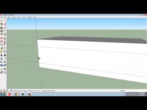 SketchUp #16 - The Tape Measure Tool - Brooke Godfrey