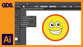 Interface Introduction to Adobe Illustrator Ep1/19 [Adobe Illustrator for Beginners]