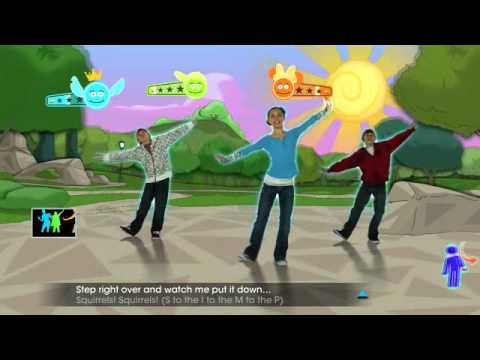 Just Dance: Disney Party -- Squirrels In My Pants Gameplay