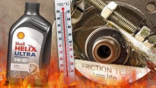 Shell Helix Ultra Professional AR-L 5W30 Jak skutecznie olej chroni silnik? 100°C