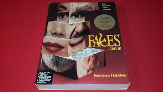 Nr Juego Pc Antiguo Faces tris III Spectrum HoloByte Diskete