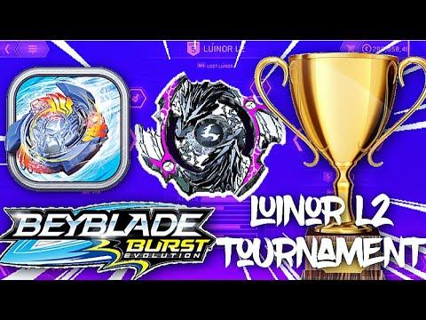 Beyblade burst app iOS update!! New elemental luinor l2
