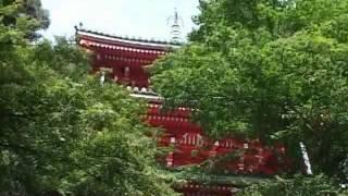 岐阜公園内、金華山の南側にある、三重の棟(大正天皇記念)です。 岐阜...