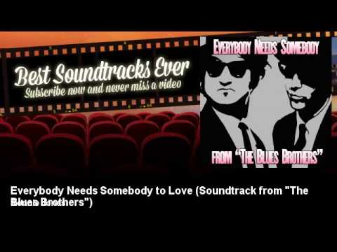 "Ronnie Jones - Everybody Needs Somebody to Love - Soundtrack from ""The Blues Brothers"""