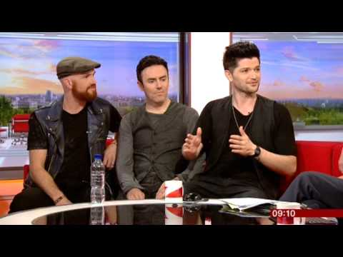 The Script Interview BBC Breakfast 2014