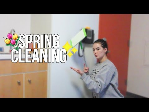 SPRING CLEAN WITH ME (TIMELAPSE)