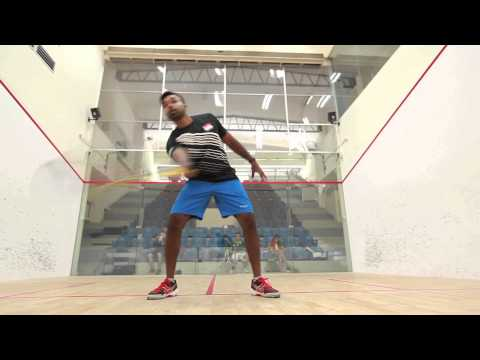 Squash- the only racket sport where players share the same space (Squash 101)