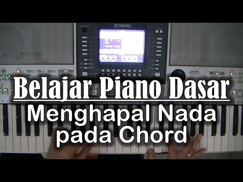 Belajar Piano Dasar Menggunakan Nada Dan Melodi Pada Chord Youtube