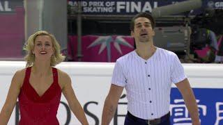 Мэдисон Хаббел - Захари Донохью. Ритм-танец. Танцы. Финал Гран-при по фигурному катанию 2019/20
