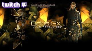 Проходим Deus Ex Human Revolution Directors Cut английская версия на сложности Give Me Deus Ex в скрытном режиме никого не убив
