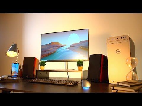 The Ultimate Retro Desk Setup 2018!