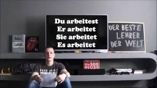 Deutsche Verben. Geman Verbs. Глаголы в немецком языке, урок 4.