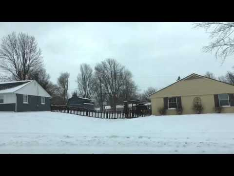 USA during Snow Fall 2016
