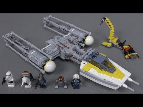 recenzja lego star wars - zestaw 75172 - y-wing starfighter / y
