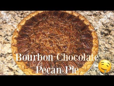 Bourbon Chocolate Pecan Pie | Best Thanksgiving Dessert