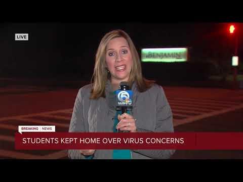 The Benjamin School students staying home because coronavirus concerns