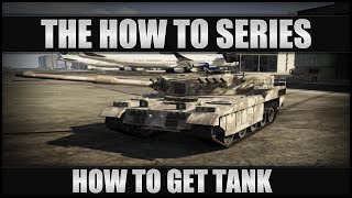 GTA V How to Get Tank Out Of Military Base Online