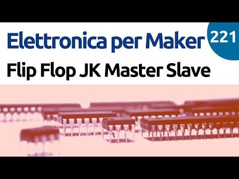 Come funziona un Flip Flop JK Master Slave? - Video 221