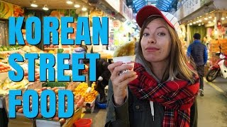 Korean Street Food Taste Test in Seoul, Korea