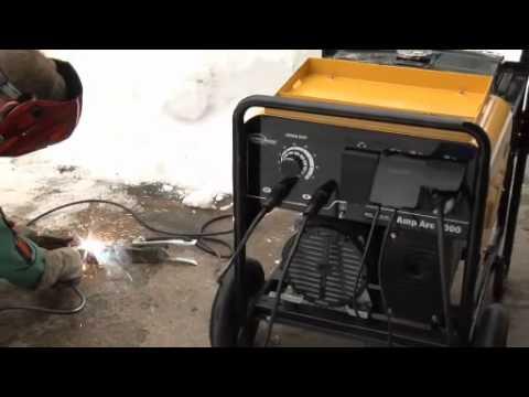 Northern Industrial Welder / Generator - DC Arc Welder, 6,000 Watt Generator