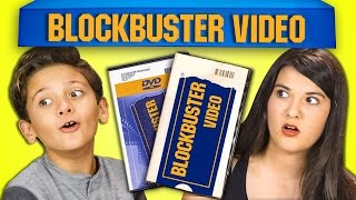 KIDS REACT TO BLOCKBUSTER VIDEO