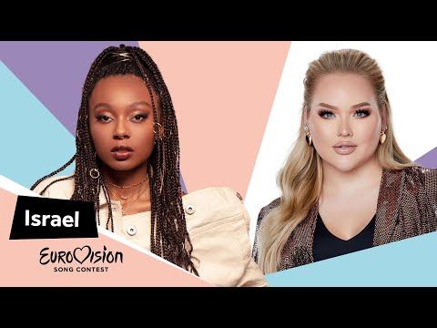 Eurovisioncalls Eden Alene - Israel 🇮🇱 with NikkieTutorials