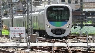 【野球日のみ】西武30000系各停西武球場前行_西武新宿線から到着
