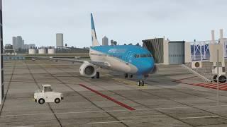 x plane 11 buenos aires sabe ushuaia sawh 737 800 aerolíneas argentinas