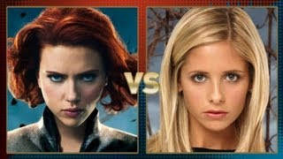 Black Widow vs Buffy the Vampire Slayer: Fanboy Faceoff