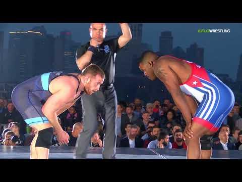 2018 Beat The Streets/USA Vs Cuba 97 RR Rnd 1 - Reineris Salas Perez (CUB) Vs. Kyle Snyder (USA).m