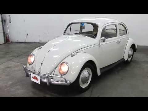 DustyOldCars.com 1961 VW Beetle White SN 1222