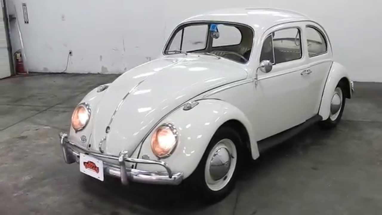Dustyoldcars Com 1961 Vw Beetle White Sn 1222 Youtube