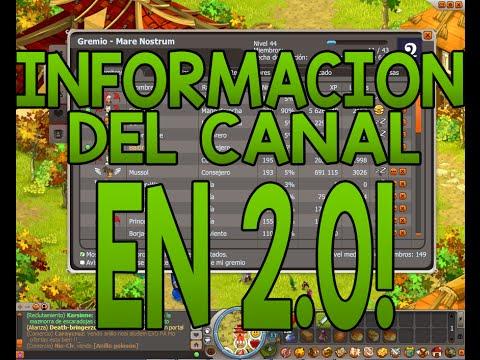 [DOFUS]INFORMACION DEL CANAL EN 2.0 =P DOFUS HISPANIA!