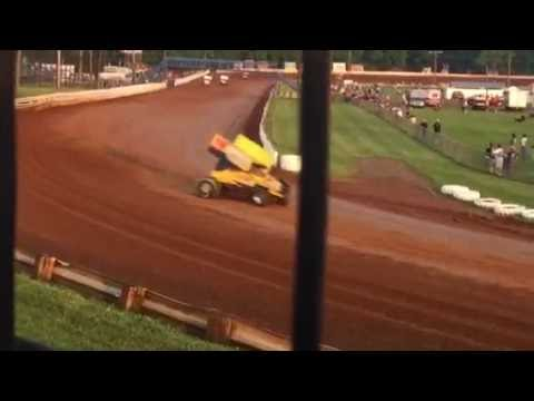 Williams Grove Speedway 410 Sprint Cars Hot Laps 06/03/16
