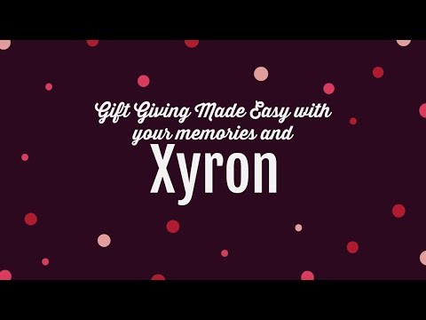 Gift Giving Made Easy with your Memories and Xyron