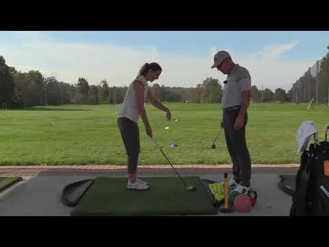 YOGA INSTRUCTOR LEARNS CHIPPING WISDOM | Wisdom in Golf