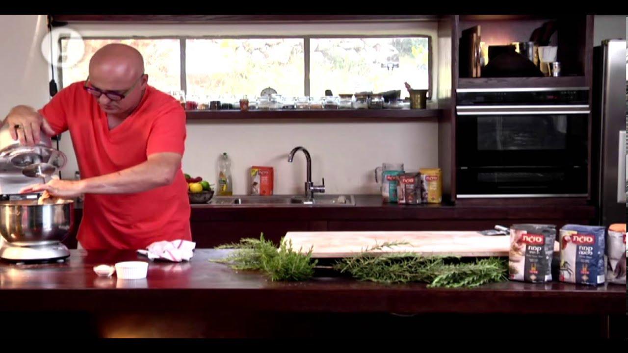 מתכוני סוגת: לחם מלא פריך של ארז קומרובסקי