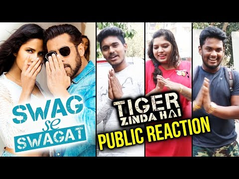 Swag Se Swagat FULL SONG Public Reaction | Tiger Zinda Hai | Salman Khan, Katrina Kaif