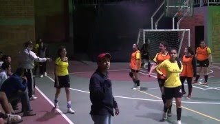 Tercera Fecha Campeonato Microfutbol Femenino 2014