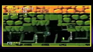 The Green Scorpion's Sonic Labyrinth zone (I hate this level montage)