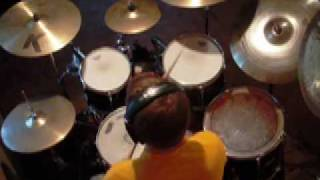 "Godsmack ""Bad Religion"" Drum cover By Peter Schulties"