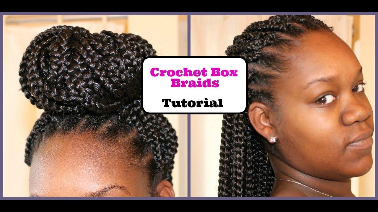 Crochet Box Braids Tutorial | Crystallinity XO - YouTube