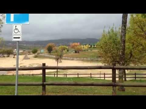 Club Motorhome Aire Videos - Barragem do Azibo, Santa Combinha, Bragança, Portugal