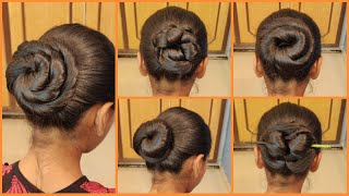 5 Very Easy and Beautiful Bun Hairstyles   Hairstyle Tutorial