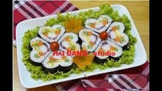 Korean style sushi