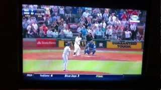 Yu Darvish misses perfect game