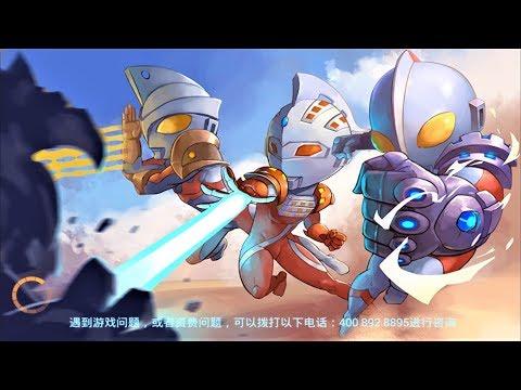 Sieu nhan game play | Hoạt hình siêu nhân điện quang chiến đấu ultraman cartoon game