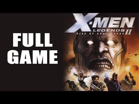 X-men Legends 2 Rise of Apocalypse【FULL GAME】| Longplay